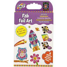 Galt Sensational Fab Foil Art