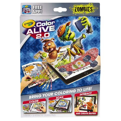Crayola Color Alive 2.0 Zombies