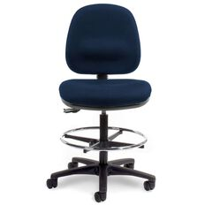 Chair Solutions Tech Midback Chair Navy