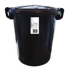 Living & Co Rubbish Bin Black 45L