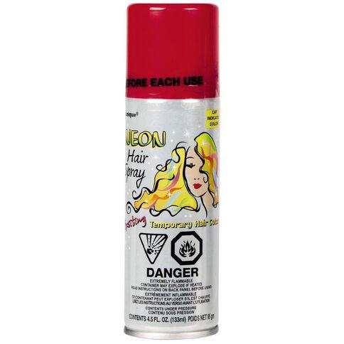 Unique Hair Spray Neon Assorted