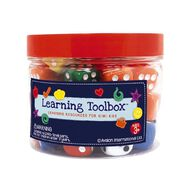 Learning Tool Box Coloured Dice 50pieces
