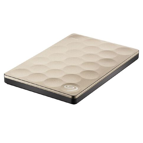 Seagate Backup Plus Ultra Slim 1TB Gold