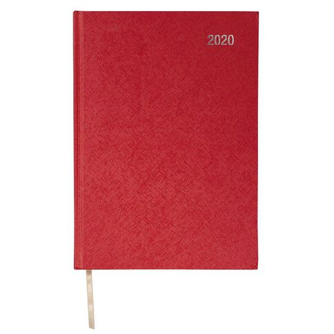 Impact Diary 2020 Day To Page Red A4