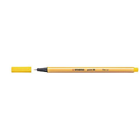 Stabilo Point 88 Fineliner 0.4mm Yellow