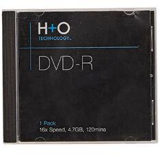H+O Dvd-R 16X 4.7 Gb 1-Jewel Case