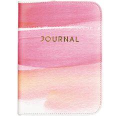 Uniti Water Colour PU Zip Journal A5