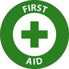 WS First Aid Circle Sign Small 300mm x 300mm