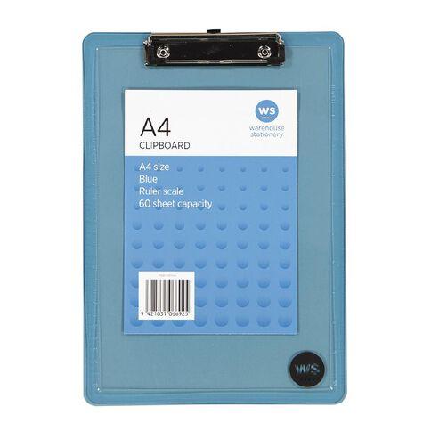 WS Clipboard Blue A4