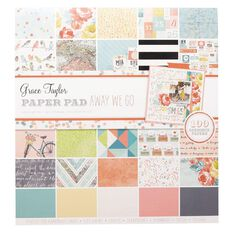 Grace Taylor Paper Pad 12 x 12 Away We Go