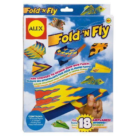 ALEX Craft Fold N Fly Paper Airplane