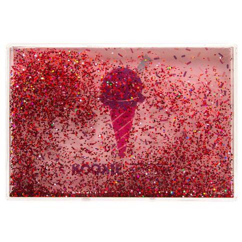 Kookie Ice Cream Snow Glitter Photo Frame