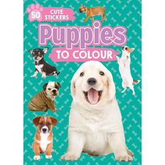 Puppies to Colour