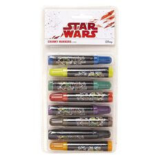 Star Wars Chunky Markers 8 Pack