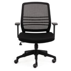 Chair Solutions Cobi Mesh Chair With Arms Black Black