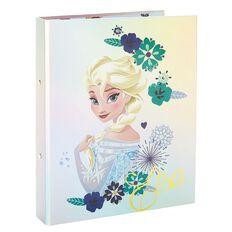 Frozen Elsa and Anna Ringbinder A4