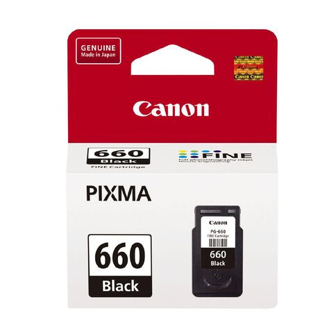 Canon Ink PG660 Black (180 Pages)