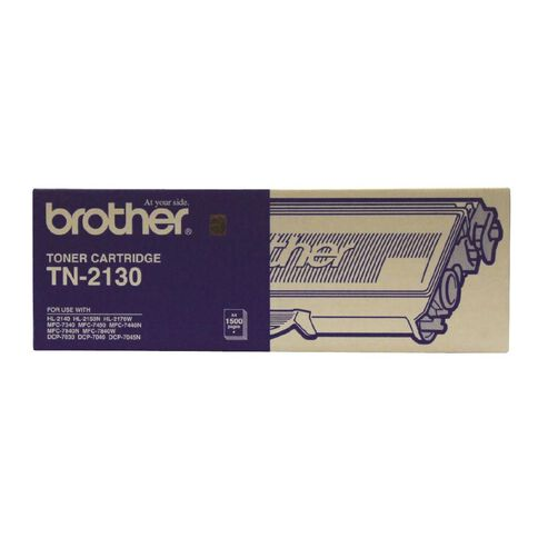 Brother Toner TN2130 Black (1500 Pages)