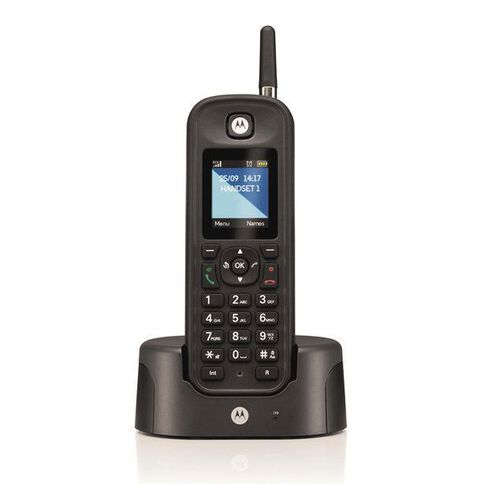 Motorola 0201H Additional Handset Black