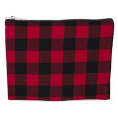 Pencil Case Lumberjack Flat Red
