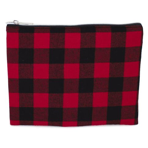 Pencil Case Lumberjack Flat Red