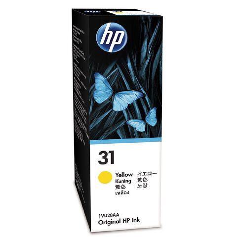 HP Ink 31 Yellow (8000 Pages)