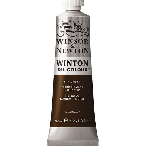 Winsor & Newton Winton Oil Paint 37ml Raw Umber Brown