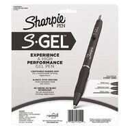 Sharpie Gel Retractable 0.7mm Gel Pen Black - Pack of 12