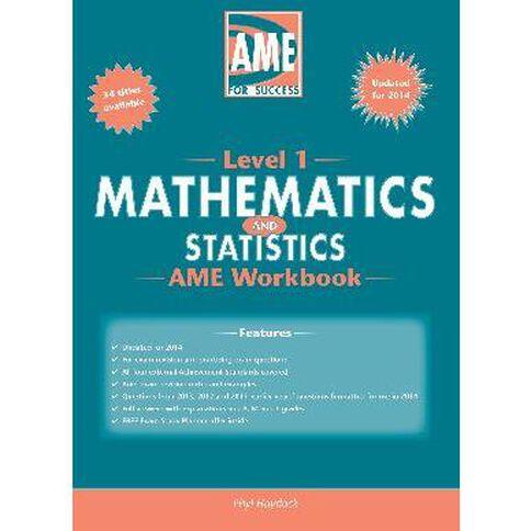 Ncea Year 11 Mathematics Workbook