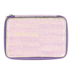 Kookie Rainbow Sequin Hardtop Pencil Case