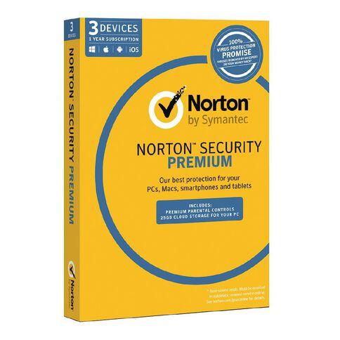 Norton Security Premium 3.0 3 Device