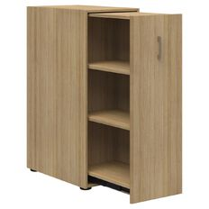 Mascot Personal Pull-out Storage non-locking Classic Oak 1200 Left Hand