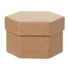 Uniti DIY Kraft Paper Hexagonal Box