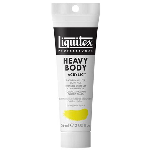Liquitex Hb Acrylic 59ml Cadmium Light Hue Yellow