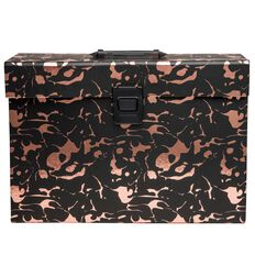 Uniti Rose Gold Concertina File Black
