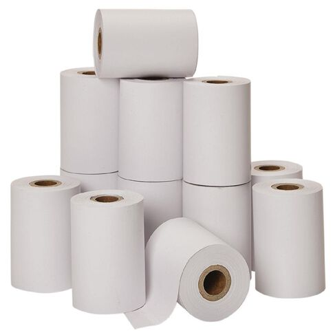 Impact Eftpos Roll 57 x 40mm Thermal White 12 Pack