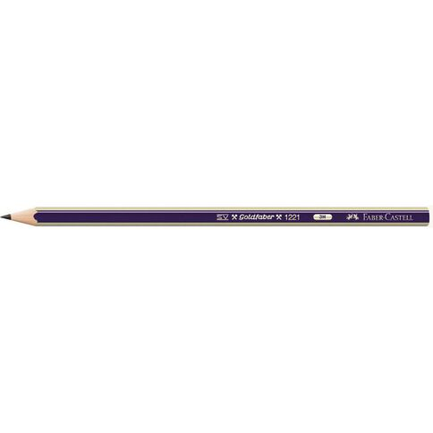 Faber-Castell Pencil Goldfaber 3H Loose Black