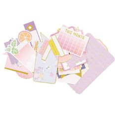 Rosie's Studio Mimosa Sunday Journaling Spots 29 Piece