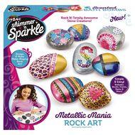 Shimmer n Sparkle Mettalic Rock Art