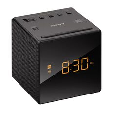 Sony Single Alarm Clock Radio ICFC1B Black
