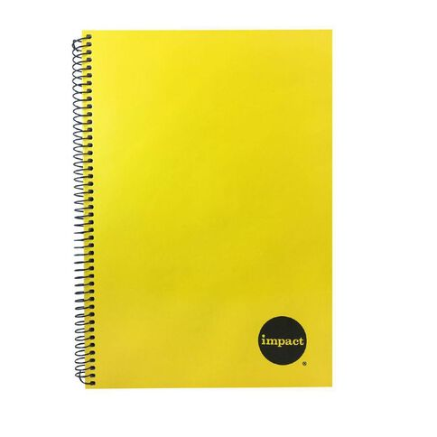 Impact Notebook Wiro Yellow A4