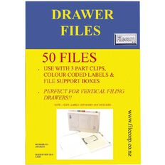 Filecorp Vertical File 2501 Standard 50 Pack