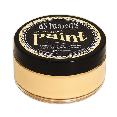 Ranger Dylusions Paint Vanilla Custard