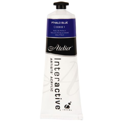 Atelier S1 80ml Pthalo Blue