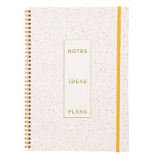 Uniti Watercolour Spiral Notebook A4