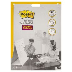 Post-It Tabletop Easel Pad 563R 508x584mm White