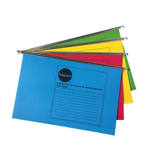 Impact Suspension File 10 Pack Assorted