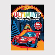 Hot Wheels: Ultimate Colouring