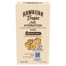 Hawaiian Tropic Silk Hydration Face Sunscreen SPF50+