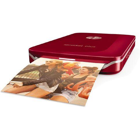 HP Sprocket Plus Printer Red